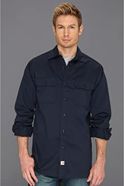 Twill L/S Work Shirt