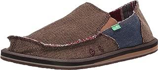Sanuk Men's Vagabond Mixer Loafer Flat