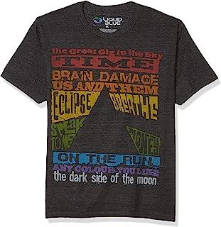 Liquid Blue Men's Dark Side Tracks T-Shirt