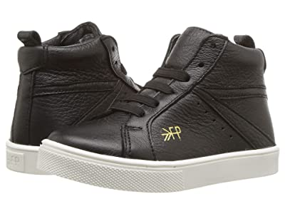 Freshly Picked High Top Sneaker (Toddler/Little Kid) (Black) Kid