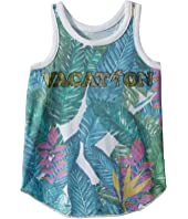 Super Soft Tropical Vacation Tank Top (Toddler/Little Kids)