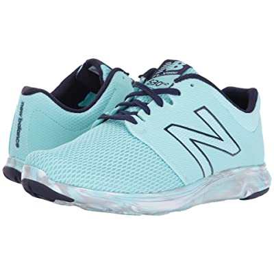 New Balance 530v2 Flx Ride (Ozone Blue Glo/Dark Denim) Women