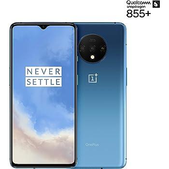 OnePlus 7T Dual-SIM 128GB/8GB RAM (GSM, CDMA) Factory Unlocked 4G/LTE Android Smartphone - International Version (Glacier Blue)