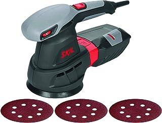 comprar comparacion Skil 7455AA - Lijadora excéntrica orbital para discos de 125 mm con variador de velocidad (430 W, bolsa para el polvo, con...