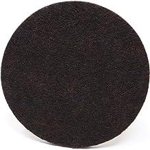 Adsamm Adsamm®   100 x viltglijders   Ø 100 mm   bruin   rond   5,5 mm dikke zelfklevende meubelglijders in premium kwaliteit