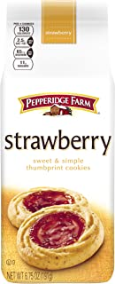 Pepperidge Farm, Verona Strawberry Cookies, 6.75oz Bag (Pack of 4)