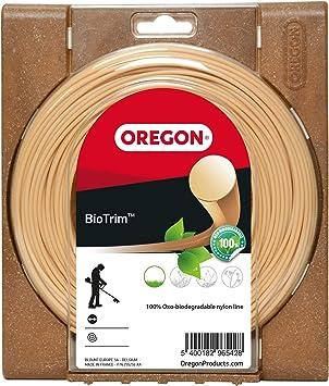 Oregon 559048 - Cuerda de nailon biodegradable para desbrozadora: Amazon.es: Bricolaje y herramientas