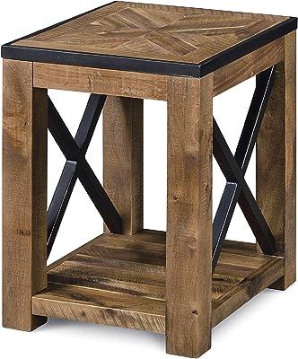 Magnussen Penderton Wood Chair Side End Table