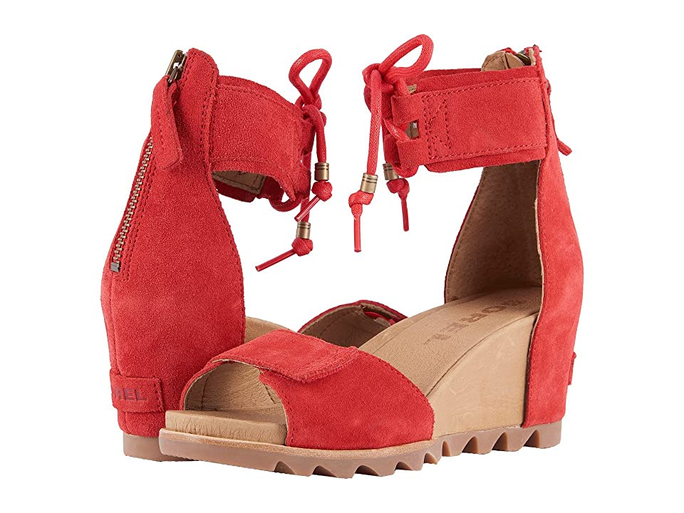 SOREL Joanie Ankle Lace (Bright Red) Women