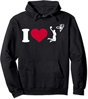 I love basketball player Pullover Hoodie