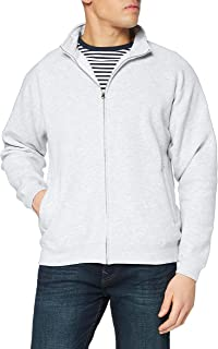 Fruit of the Loom Men's Zip front Premium Sweater