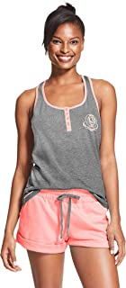 U.S. Polo Assn. Essentials Womens Pajama Racerback Tank...
