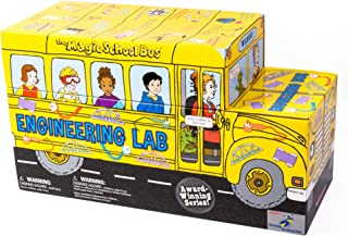 The Magic School Bus - Engineering Lab – Science kit Stem Kit for Ages 5 – 12 by Young Scientist Club