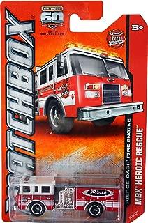 2013 Matchbox MBX Heroic Rescue - Pierce Dash Fire Engine