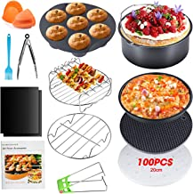 Apsung 8 Inch Air Fryer Accessories Set ,XL Air Fryer Accessories with Recipe Cookbook for Gowise Phillips Cozyna Airfryer...