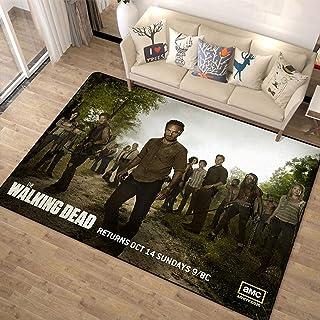 xuejing Tapis Tapis Chambre Chevet Salon Rectangulaire Intérieur Collège Dortoir Europe Et Amérique The Walking Dead Maiso...