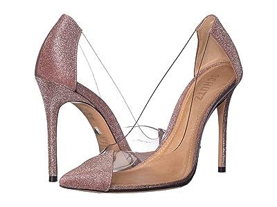 Schutz Cendi (Pink Glitter) High Heels