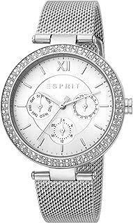 ساعة بيتي كوارتز عصرية للنساء من اسبريت، موديل ES1L189M0065