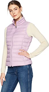 Amazon Essentials Women's Lightweight Water-Resistant Packable Down Vest