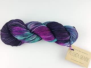 Manos Del Uruguay Alegria Grande AG9995 Agave, 100 Gram, Hand Dyed Knitting Yarn