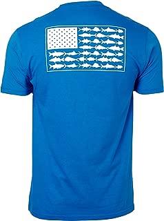 PFG Americana Saltwater Fish Flag T-Shirt