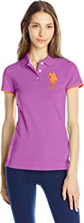 U.S. Polo Shirt Assn. Juniors' Contrast Patch Polo Shirt