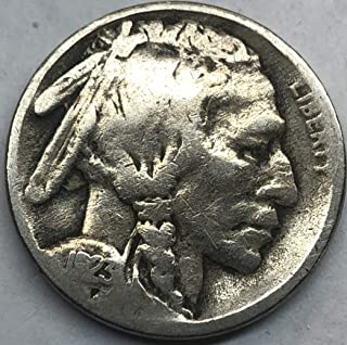 1923 S Buffalo Nickel Good Condition