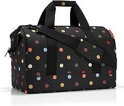 reisenthel allrounder M MS7009 dots – Reisetasche mit 18l Volumen – Hochwertig und bequem – B 40 x H 33,5 x T 24 cm