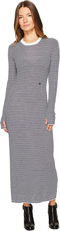 Striped Wool Dress