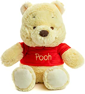 Winnie the Pooh - Disney Pooh Beanie Small Stuffed Plush Toy, 30 x 19 x 13cm