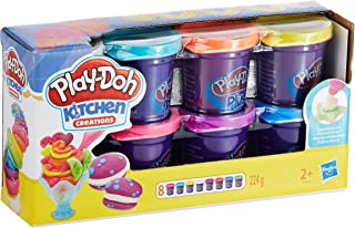 Play-Doh Plus 8-Pack Variety of Non-Toxic Colors for Decorating