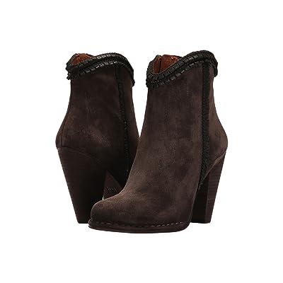 Frye Madeline Trim Shorts (Grigio Soft Oiled Suede/Smooth Full Grain) Women