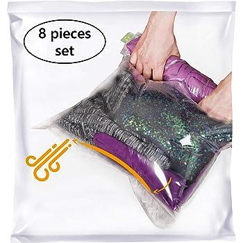 Hand Compress Pump Light Plastic for Vacuum Clothes Bag Air Deflation Home Tool