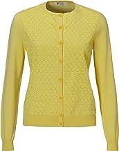 Greg Norman Womens Lace Golf Cardigan Sweater