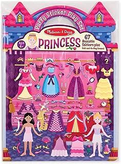 Melissa and Doug Puffy Sticker Play Set - Princess