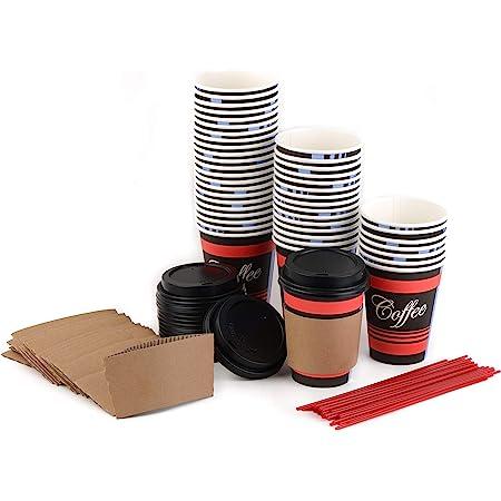 paper coffee tea cups,340.96 mL lids Coffee cups 12oz x 1000pcs hot beverage