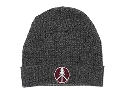 tentree Patch Beanie (Meteorite Black Marled) Beanies