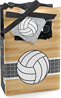 Bump, Set, Spike - Volleyball - Baby Shower or Birthday Party Favor Boxes - Set of 12