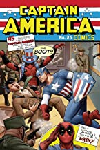 Captain America #25 75th Anniversary Deadpool