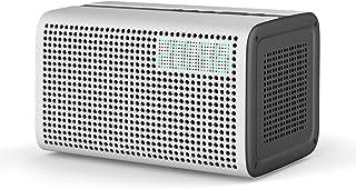 GGMM E3 Bluetooth WiFi Speaker Alexa Built-in Alexa Speaker, Multi Room Play Smart Speaker with LED Clock, Alarm Setting, ...
