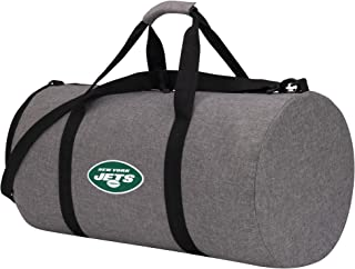 NFL New York Jets Unisex C11NFL/DC602/0X15/AMZ Wingman Packable Duffel, Gray, One Size