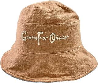 قبعة LFNOWN للأطفال قابلة للطي قبعة قابلة للتنفس للبنات والأولاد قبعة شمس من عمر 2-8 سنوات قبعات سمك كاكي