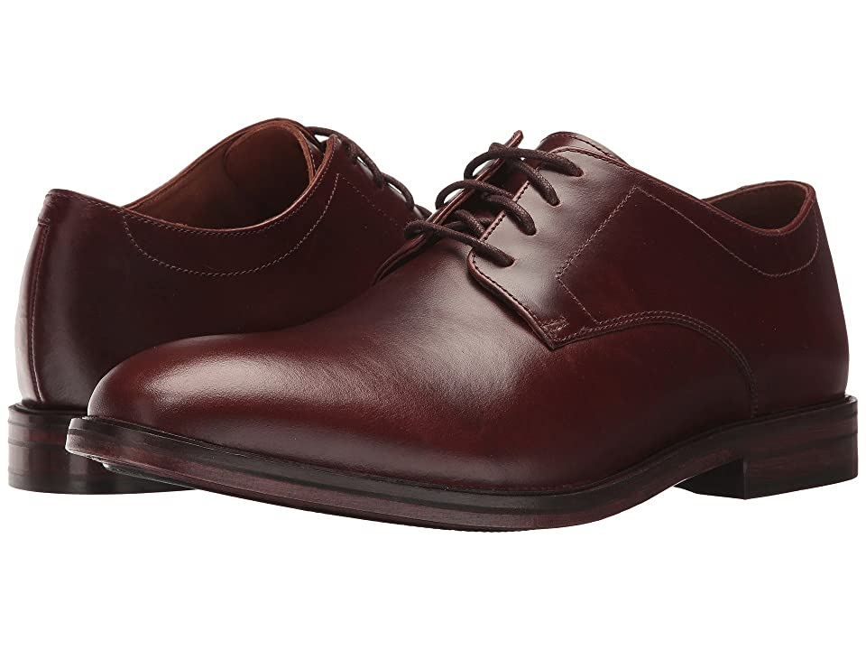 Bostonian Mckewen Plain (Mahogany Leather) Men