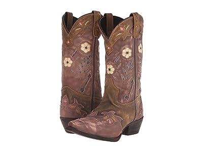 Laredo Miss Kate (Tan/Pink) Cowboy Boots