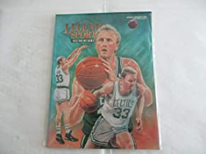 JANUARY/FEBRUARY 1993 HOBBY EDITION/COVER 42 LEGENDS SPORTS MEMORABILIA MAGAZINE FEATURING LARRY BIRD OF THE BOSTON CELTICS