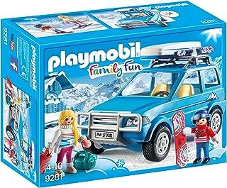 Playmobil Winter SUV Building Set