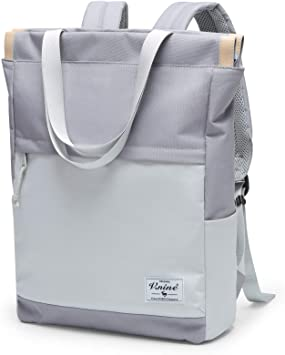 Convertible Tote Daypack Laptop Backpack, Fits 15.6 Inch Notebook
