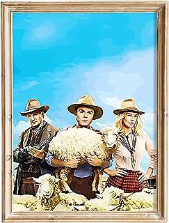FANART369 Een miljoen manieren om te sterven in het Westen #2 poster A3 formaat fanart Film poster muur kunst print decor ...