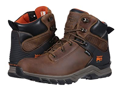 Timberland PRO Hypercharge 6 Soft Toe WP (Brown Distressed) Men