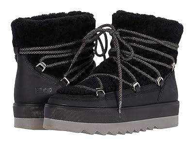 Cougar Verity Waterproof (Black Leather/Curly Sherling) Women